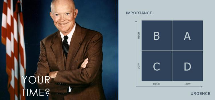 Le dirigeant et sa matrice d'Eisenhower